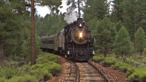 Mit dem Grand-Canyon-Dampfzug unterwegs