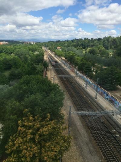 Züge der Linien C7 und C10 verkehren von Principe Pio in Richtung Norden