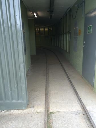 Fußweg zur Einstiegstelle in die Lorenbahn