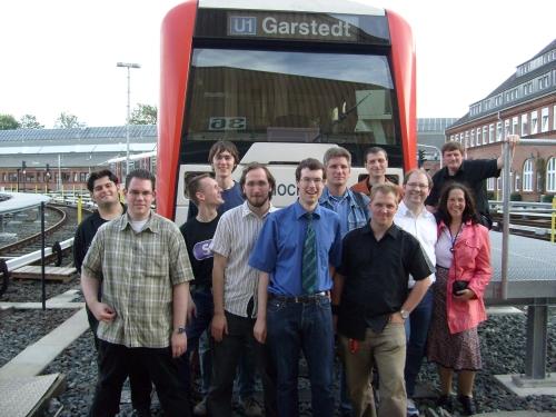 Das BahnInfo-Team 2008