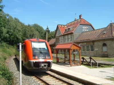 VT 641 in Schwarzburg